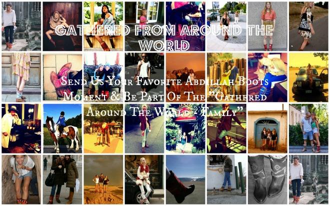 Gathered around the world_TEXT