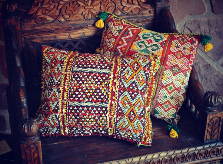 Beyond Morocco Objects Of Desire Kilim Pillows