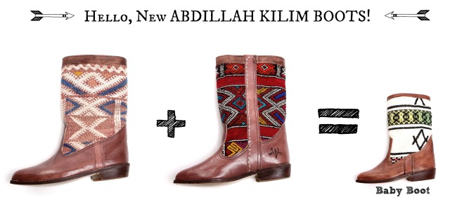 Abdillah Kilim Boots
